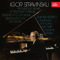 Stravinskij: Koncert pro klavír a dechové nástroje, Sonata in C a Serenada in A pro klavír