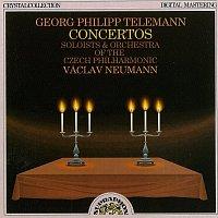 Přední strana obalu CD Telemann: Koncerty