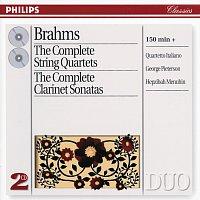 Quartetto Italiano, George Pieterson, Hepzibah Menuhin – Brahms: The Complete String Quartets/Clarinet Sonatas [2 CDs]