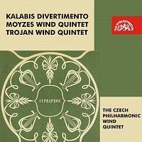 Kalabis, Moyzes, Trojan: Divertimento - Dechové kvintety