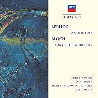 Daniel Benyamini, János Starker, Israel Philharmonic Orchestra, Zubin Mehta – Berlioz: Harold In Italy; Bloch: Voice In The Wilderness