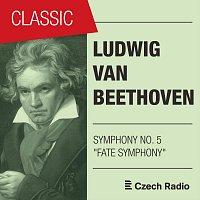 """Přední strana obalu CD Ludwig Van Beethoven: Symphony NO. 5 """"Fate Symphony"""" (Live)"""