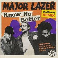 Major Lazer, Camila Cabello & Bad Bunny, Quavo, Travis Scott – Know No Better (feat. Travis Scott & Quavo) [Bad Bunny Remix]