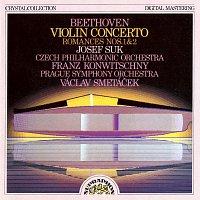 Beethoven: Koncert pro housle a orchestr D dur, Romance pro housle a orchestr č. 1 a 2
