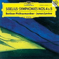 Přední strana obalu CD Sibelius: Symphonies Nos. 4 & 5