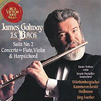 James Galway, Jorg Faerber – James Galway Plays Bach: Suite No. 2 & Concerto for Flute, Violin and Harpsichord
