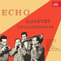 Přední strana obalu CD Echo kvartet foukacích harmonik