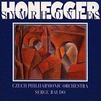 Česká filharmonie/Serge Baudo – Honegger: Symfonie č. 1-5, Pacific 231, Symfonická věta č. 3