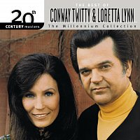 Přední strana obalu CD 20th Century Masters: The Millennium Collection: Best Of Conway Twitty & Loretta Lynn