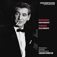 Leonard Bernstein, Felix Mendelssohn-Bartholdy, New York Philharmonic Orchestra, Pinchas Zukerman – Mendelssohn: Violin Concerto in E Minor, Op. 64 - Schumann: Cello Concerto in A Minor, Op. 129