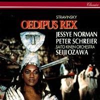 Seiji Ozawa, Jessye Norman, Peter Schreier, Bryn Terfel, Saito Kinen Orchestra – Stravinsky: Oedipus Rex