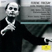 Nicanor Zabaleta, Heinrich Geuser, Margrit Weber, Radio-Symphonie-Orchester Berlin – Handel: Harp Concerto Op.4, No.6 / Weber: Clarinet Concerto No.1, Op.73; Konzertstuck Op.79