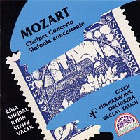 Česká filharmonie, Václav Talich – Mozart: Koncert pro klarinet, Koncertantní symfonie Es dur