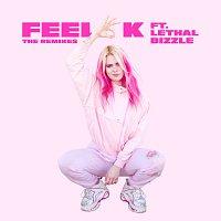 Přední strana obalu CD Feel OK [Remixes]