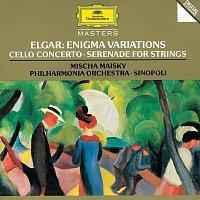 Mischa Maisky, Philharmonia Orchestra, Giuseppe Sinopoli – Elgar: Enigma Variations; Cello Concerto; Serenade For Strings