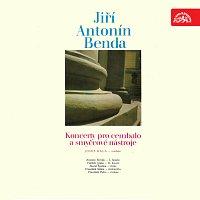 Přední strana obalu CD Benda: Koncerty pro cembalo a smyčcové nástroje