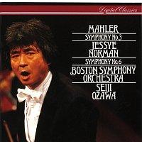 Jessye Norman, American Boy Choir, Tanglewood Festival Chorus, Seiji Ozawa – Mahler: Symphonies Nos 3 & 6