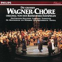 Chor der Bayreuther Festspiele, Orchester der Bayreuther Festspiele, Karl Bohm – Die grossen Wagner Chore - Original von den Bayreuther Festspielen