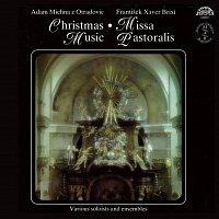 Přední strana obalu CD Brixi, Michna: Missa pastoralis, Christmas Music