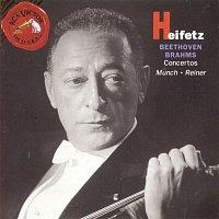 Jascha Heifetz, Fritz Reiner, Johannes Brahms – Beethoven/Brahms: Concertos