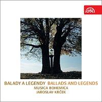 Přední strana obalu CD Balady a legendy