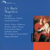 Judith Nelson, Emma Kirkby, Carolyn Watkinson, James Bowman, Paul Elliott – Bach, J.S. / Vivaldi: Magnificat / Nisi Dominus / Nulla in Mundo Pax Sincera etc.