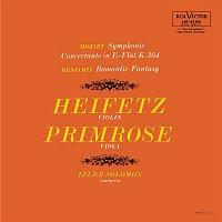 Jascha Heifetz, Izler Solomon, Arthur Benjamin – Mozart: Sinfonia concertante in E-Flat, K.364, Benjamin: Romantic Fantasy
