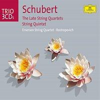 Přední strana obalu CD Schubert: The Late Quartets; Quintet