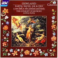 Přední strana obalu CD Dowland: Earth, Water, Air and Fire - A New Look at  John Dowland and Friends