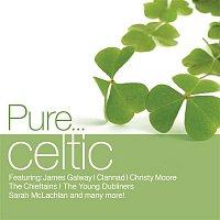 Přední strana obalu CD Pure... Celtic