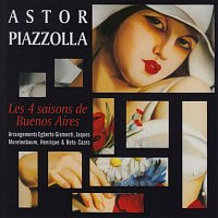 Přední strana obalu CD Astor Piazzolla - The Four Seasons of Buenos Aires