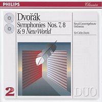 """Přední strana obalu CD Dvorák: Symphonies Nos. 7, 8 & 9 """"New World"""""""